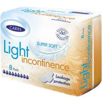Carine LIGHT Inkontinencia 8 kusov