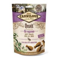 CARNILOVE Dog Semi Moist Snack Quail&Oregano 200 g