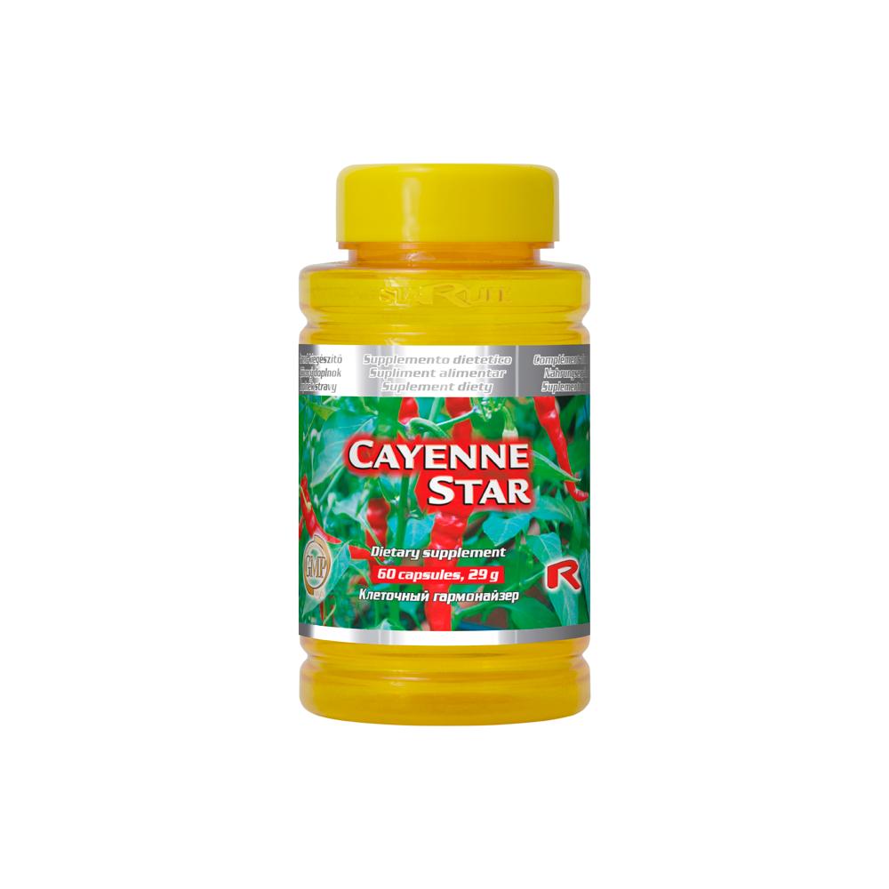 Cayenne Star 60 cps.