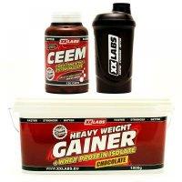 CEEM 120 kapsúl + GAINER čokoláda 1000 g + šejker ZADARMO