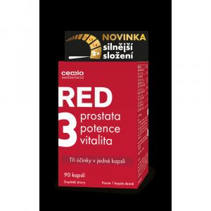 CEMIO RED3 Prostata, vitalita, potencia 90 kapsúl
