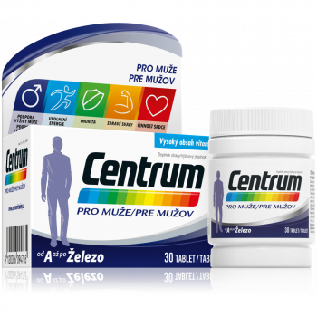 CENTRUM Multivitamín pre mužov 30 tabliet