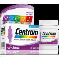 CENTRUM Multivitamín pre ženy 30 tabliet