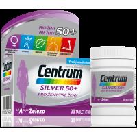 CENTRUM Multivitamín pre ženy 50+ 30 tabliet