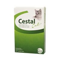 CESTAL CAT 80 mg/20 mg žuvacie tablety pre mačky 8 ks