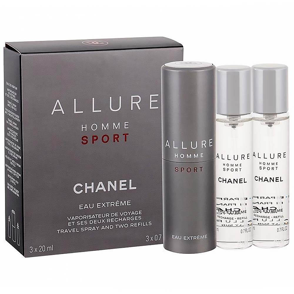 Chanel Allure Sport Eau Extreme 3x20ml