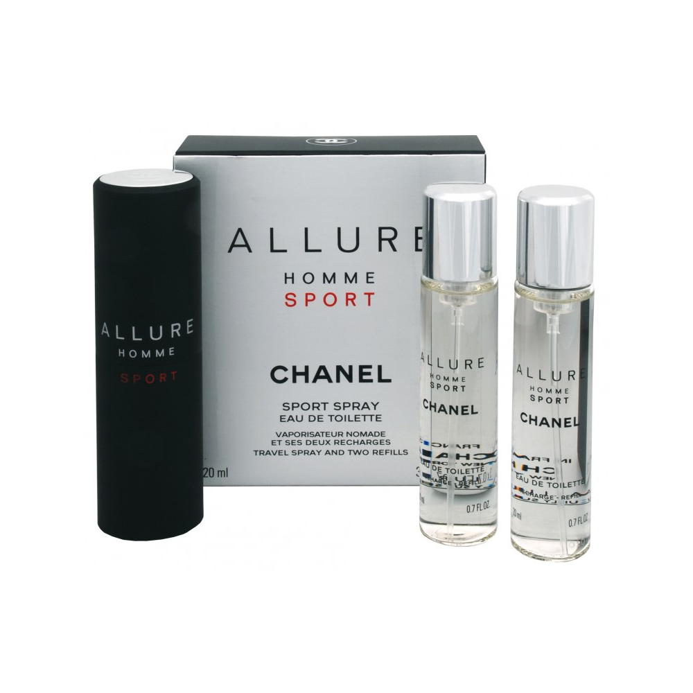 Chanel Allure Sport 3x20ml