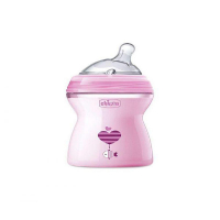 CHICCO Fľaša dojčenská Natural Feeling 2m + Dievča 250 ml