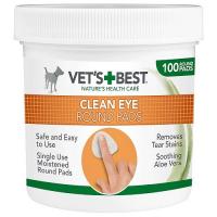 VET´S BEST Čistiaca utierka na oči pre psy 100 ks