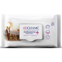 CLEANIC Antibacterial Vlhčené obrúsky 40 ks