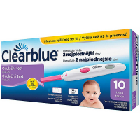 Clearblue ovulačné testy DIGITAL 10 ks