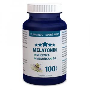 CLINICAL Melatonín Mučenka Medovka B6 100 tabliet