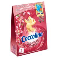 COCCOLINO vonné vrecúška Fiori di Tiaré e Frutti Rossi 3 ks