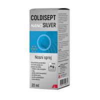 COLDISEPT Nanosilver nosový sprej 20 ml