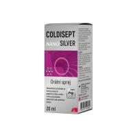 COLDISEPT Nanosilver orálny sprej 20 ml
