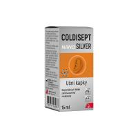 COLDISEPT Nanosilver ušné kvapky 15 ml
