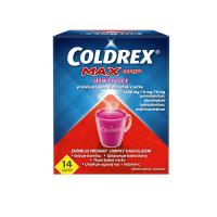 COLDREX MaxGrip Lesné ovocie 7,6 g 14 vreciek