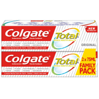 COLGATE Total Original Zubná pasta 2x75 ml