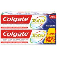 COLGATE Total Whitening Zubná pasta 2x75 ml