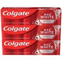 COLGATE Zubná pasta Max White Luminous 3 x 75 ml