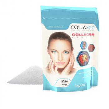 COLLANGO Collagen hydrolyzovaný kolagén s vitamínom C a so zinkom bez príchute 315 g