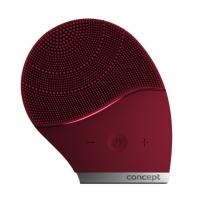 CONCEPT SK9001 Čistiaca sonická kefka na tvár burgundy