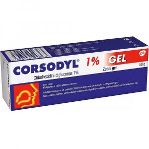 CORSODYL GEL 1% 50g.
