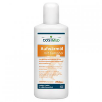 COSIMED športový prehrievací olej 250 ml
