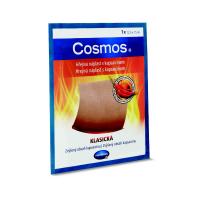 COSMOS Hrejivá náplasť kapsaicín klasická 12,5x15 cm