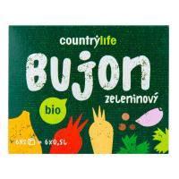 COUNTRY LIFE Bujón zeleninový kocky 6 ks BIO