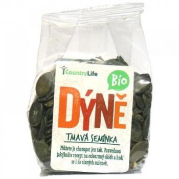 COUNTRY LIFE Dyňové semienka tmavé nelúpané BIO 100 g