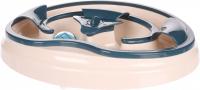 FLAMINGO Interaktívna hračka pre mačky ovál 32,5 x 27 x 6,5 cm
