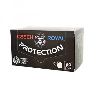 CZECH ROYAL PROTECTION FFP2 20 kusov Jednorázový ochranný respirátor