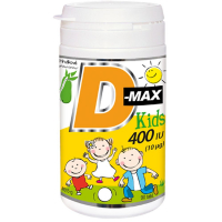 VITABALANS D-Max kids 400 IU 90 tabliet