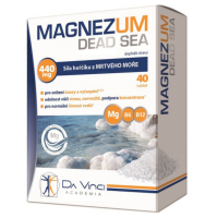 DA VINCI ACADEMIA Magnezum Dead Sea horčík 40 tabliet