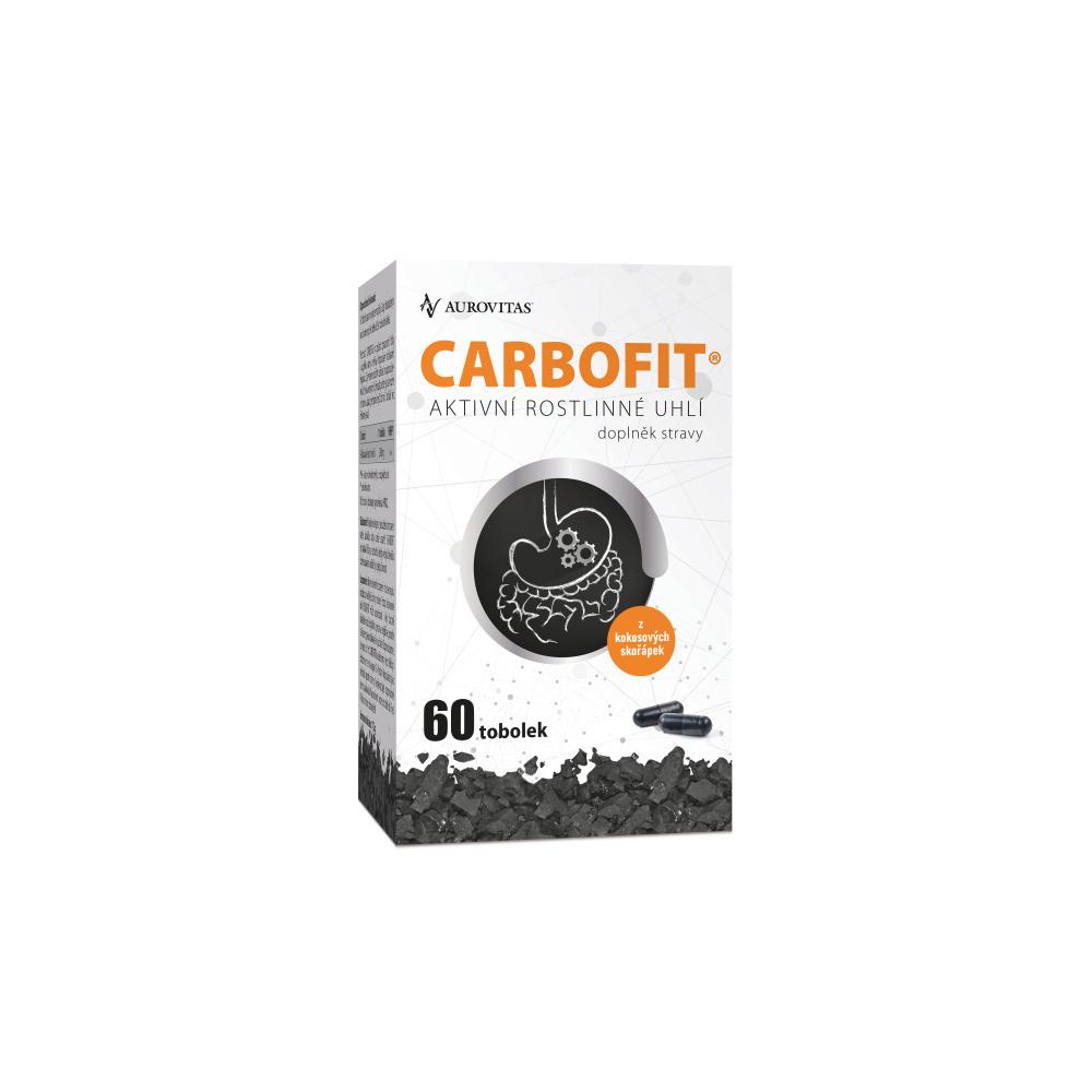 DACOM PHARMA Carbofit 60 rastlinných kapsúl