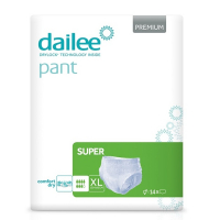 DAILEE Pant Premium SUPER Inkontinenčné nohavičky XL 14 ks