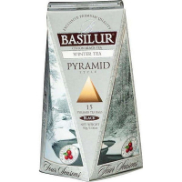 DÁREK BASILUR Four Seasons Winter Tea Pyramid 15x2g