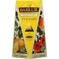 DÁREK BASILUR Fruit Indian Summer Pyramid 15x2g