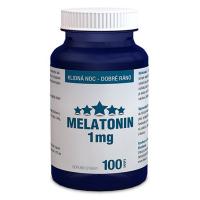 DARČEK CLINICAL Melatonín 1 mg 100 tabliet