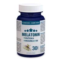 DÁREK  CLINICAL Melatonin Mučenka Meduňka B6 30 tablet