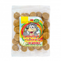 DÁREK WOLFBERRY Kapičky od Wolfíka jablko, banán, špenát 18 g BIO