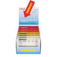 Dávkovač na lieky ANABOX Denná box farebný