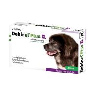 DEHINEL PLUS XL tablety pre psov 2 tablety