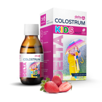 DELTA COLOSTRUM KIDS Jahoda 125 ml