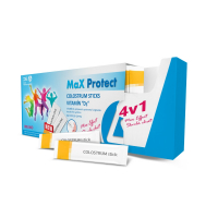 DELTA MaX Protect COLOSTRUM Sticks + Vitamín D3 prášok vo vreckách 30 ks