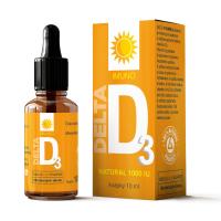DELTA Vitamín D3 Natural 1000 IU 10 ml