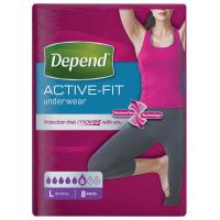 DEPEND Active-Fit nohavičky 6 kvapiek veľ. L 8 kusov