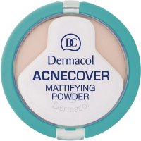 Dermacol Acnecover Mattifying Powder Honey 11g (odtieň Honey)