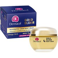 Dermacol Gold Elixir Rejuvenating Caviar Night Cream 50ml (Všetky typy pleti)